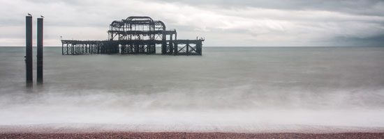 An image of Brighton 'old' pier